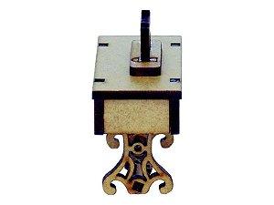 Miniatura Mesa Com Máquina de Costura A092