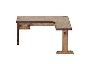 Miniatura Mesa do Escritório A035