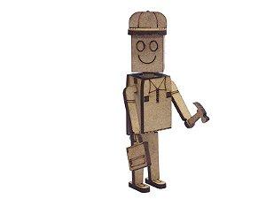 Miniatura Personagem Wood A124