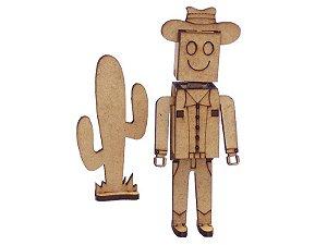 Miniatura Personagem Bill A125