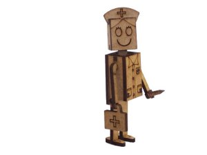Miniatura Personagem Doutora Marçolla A126