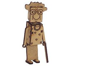 Miniatura Personagem Sra Nili A127