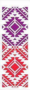 Stencil de Acetato para Pintura OPA Simples 10 x 30 cm - 2615 Estamparia Inca GR