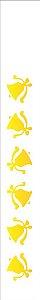 Stencil de Acetato para Pintura OPA 04×30 Simples – Sinos – OPA 307