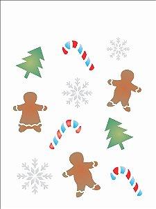 Stencil de Acetato para Pintura OPA 15×20 Simples – Estamparia Natal – OPA 1116