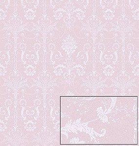 Papel Para Scrapbook Dupla Face 30,5 cm x 30,5 cm - SDN-061 - SCRAP DUPLO NATAL - BOLAS DE PINHEIRO/Arabescos