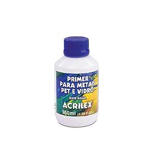 Primer para Metais PET e Vidros Acrilex 100 ml