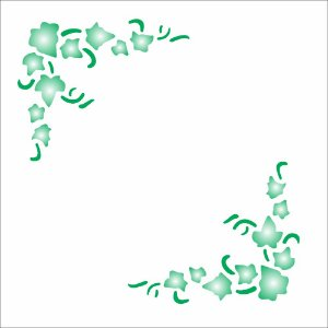 Stencil 10×10 Simples – Cantoneira Hera – OPA 142