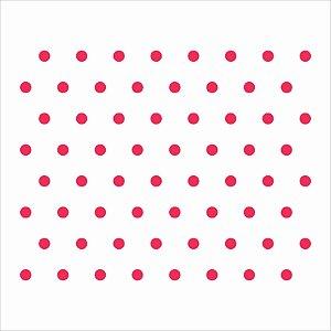 Stencil 14×14 Simples – Poá Médio – OPA 1059