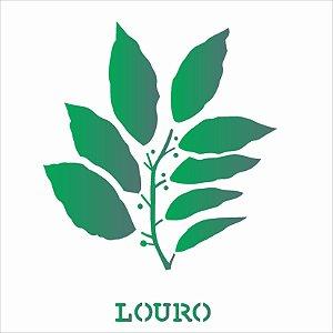 Stencil 14×14 Simples – Tempero Louro – OPA 2015