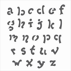Stencil 14×14 Simples – Alfabeto V – OPA 977
