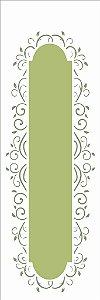 Stencil 10×30 Simples – Moldura Arabesco II – OPA 2421