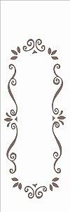 Stencil 10×30 Simples – Moldura Arabesco – OPA 716