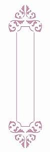 Stencil 10×30 Simples – Moldura Bastão – OPA 2422