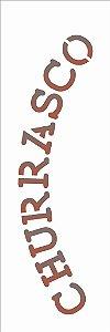 Stencil 10×30 Simples – Churrasco – OPA 1993