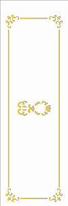 Stencil 10×30 Simples – Gaveta Colonial – OPA 1721