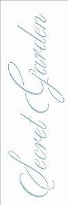Stencil 10×30 Simples – Palavras Secret Garden – OPA 2427
