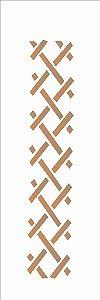 Stencil 10×30 Simples – Cerca – OPA 110
