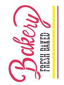 Stencil 15×20 Simples – Palavras Bakery – OPA 2253