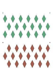 Stencil 15×20 Simples – Estamparia Losangos – OPA 2240