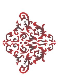 Stencil 15×20 Simples – Arabesco Colonial – OPA 2236