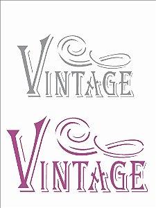 Stencil 15×20 Simples – Vintage – OPA 1879