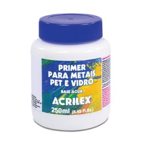 Primer para Metais PET e Vidro Acrilex 250 ml