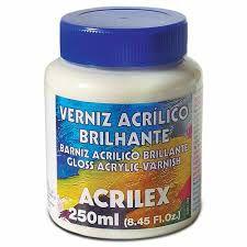 Verniz Acrílico Brilhante Acrilex 250 ml