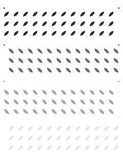 Stencil 20×25 Simples – Estamparia Retrô III – OPA 2270