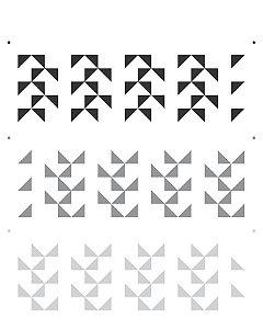 Stencil 20×25 Simples –Estamparia Quadriculado II – OPA 2269