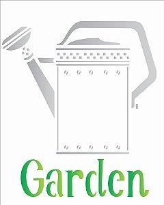 Stencil 20×25 Simples – Regador Garden – OPA 1832