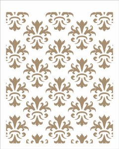 Stencil 20×25 Simples – Estamparia Arabesco IV – OPA 2455