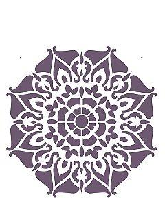 Stencil  20×25 Simples – Mandala II Camada I – OPA 2282