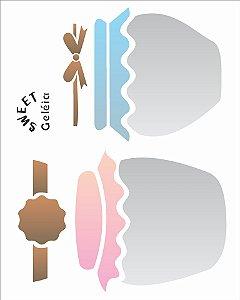 Stencil 20×25 Simples – Pote Compota II – OPA 2082