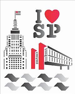 Stencil 20×25 Simples – Cidades São Paulo – OPA 1239