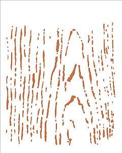 Stencil 20×25 Simpes – Nó de Madeira – OPA 1450