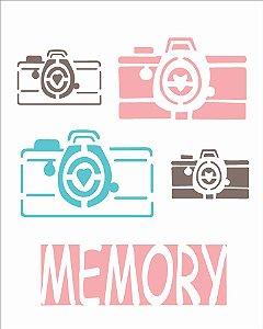 Stencil 20X25 Simples – Câmera Memory – OPA 1765
