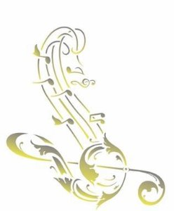 Stencil 20×25 Simples – Nota Musical – OPA 2587
