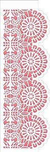 Stencil 10×30 Simples – Negativo Renda II – OPA 2571