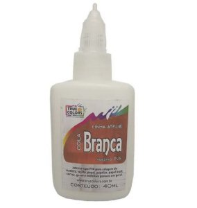 Cola Branca Multiuso True Colors 40ml