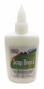 Cola Branca para Scrapbook True Colors Scrap Cola 90ml