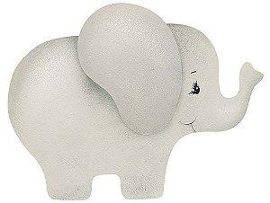APM8-970 - Aplique Litoarte Em Papel E MDF - Elefante Cinza