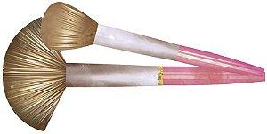 APM8-1103 - Aplique  Litoarte Em Papel E MDF - Maquiagem Pinceis