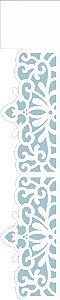 Stencil 06×30 Simples – Renda Arabesco Flor – OPA 2410