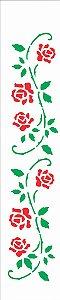 Stencil 06×30 Simples – Ramo Roseira – OPA 922