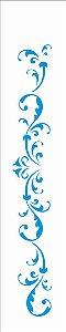 Stencil 06×30 Simples – Arabesco Colonial – OPA 2409