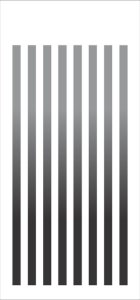Stencil 7×15 Simples – Listras Grandes – OPA 1967