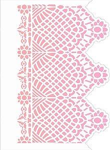 Stencil 15×20 Simples – Negativo Renda III – OPA 2621