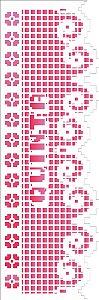 Stencil 10×30 Simples – Negativo Renda Semana V – OPA 2678
