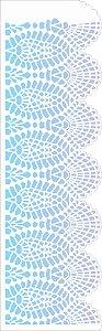 Stencil 10×30 Simples – Negativo Renda IV – OPA 2618